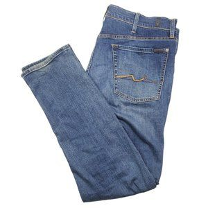 7 For All Mankind Paxtyn Men's Stretch Jeans 38x32